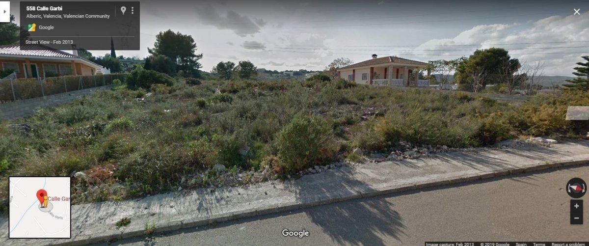 Area edificabile urbana  Calle calle garbi. Parcela   planos  licencia   cementacion hecho en urbanización s