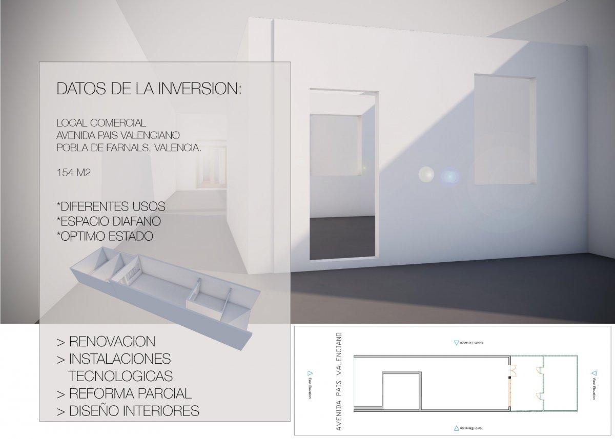 Affitto Locale commerciale  Avenida avenida pais valenciano, 46. Oportunidad de inversion, local comercial en pobla de farnals