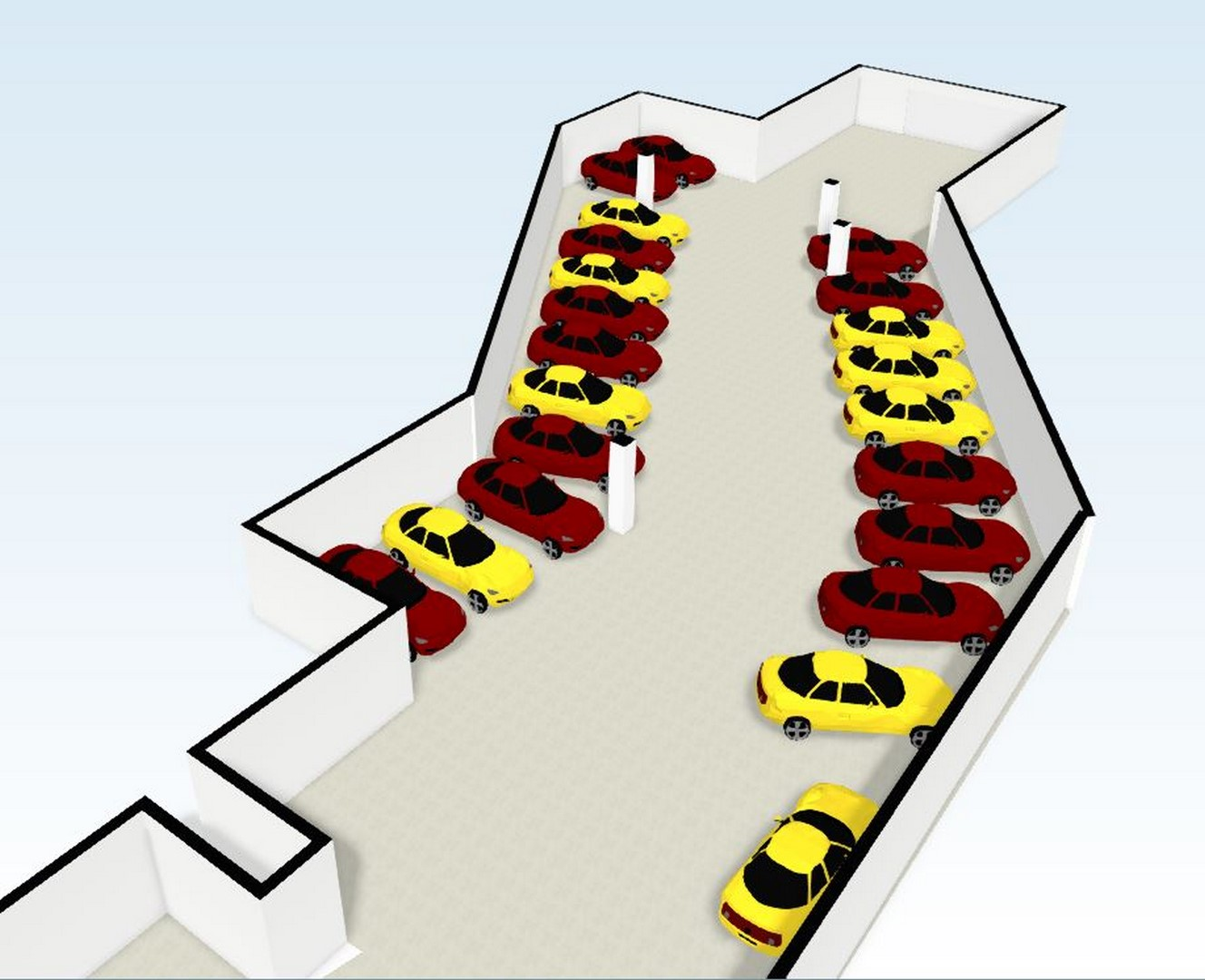 Alquiler Parking coche  Plaza pare oriol, 4. Plazas de parking des de 50 euros para coche y 20 para moto.