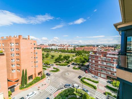 Áticos en venta en Madrid, Zona de