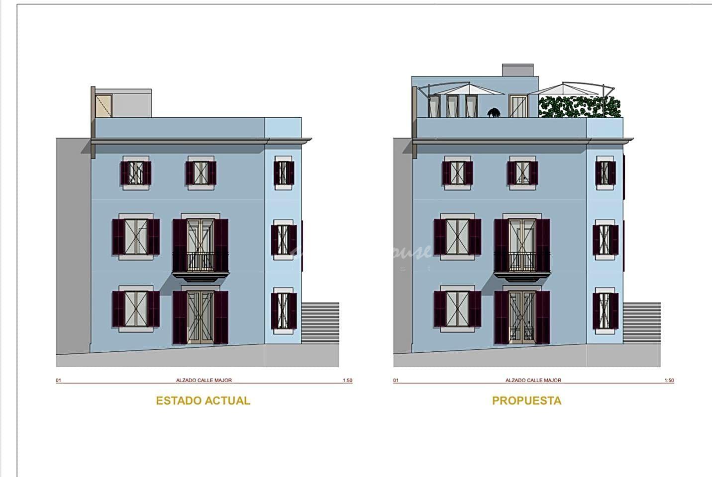 Gebäude  Calle carrer major. Se vende. hostal situado en el casco antiguo de felanitx, rodead