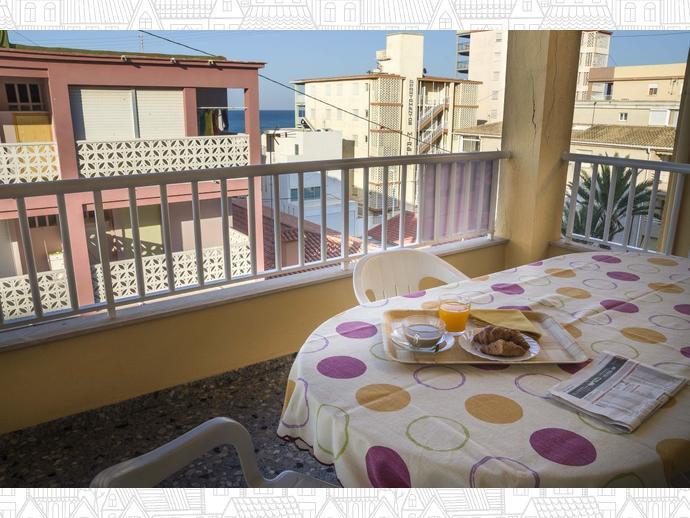 Foto 2 de Apartamento en Bellreguard ,2ª Linea Playa De Bellreguard / Bellreguard