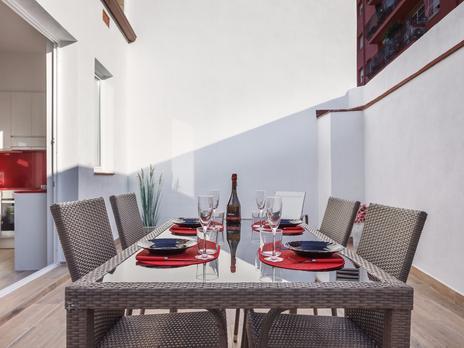 Viviendas de alquiler vacacional con terraza en Barcelona Provincia