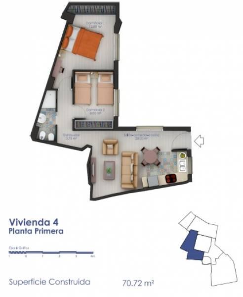 Piso en venta en Sevilla ,santa Cruz - Alfalfa