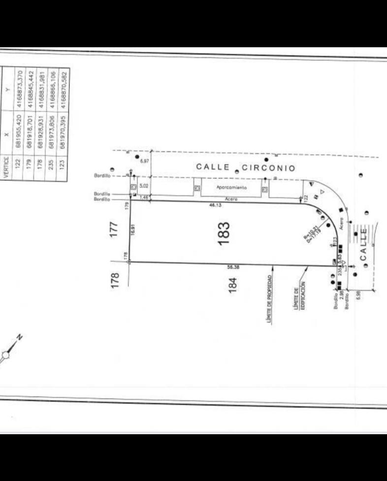 Solar urbano  Calle relámpago. Venta parcela poli industrial los camachos cartagena.1000m2 situ