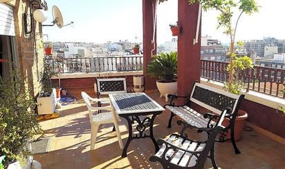 Áticos en venta con terraza en Alicante Provincia