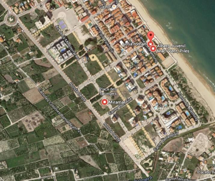 Solar urbà  Piles ,playa
