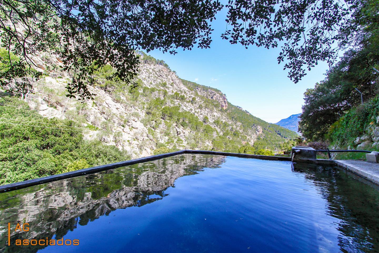 Casa en Sóller. Entre montañas y torrentes se encuentra esta preciosa y única ca