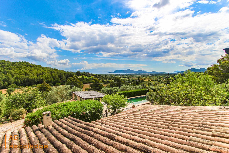 Location Maison à Pollença. Preciosa casa rústica con piscina a 2 minutos del golf de pollen