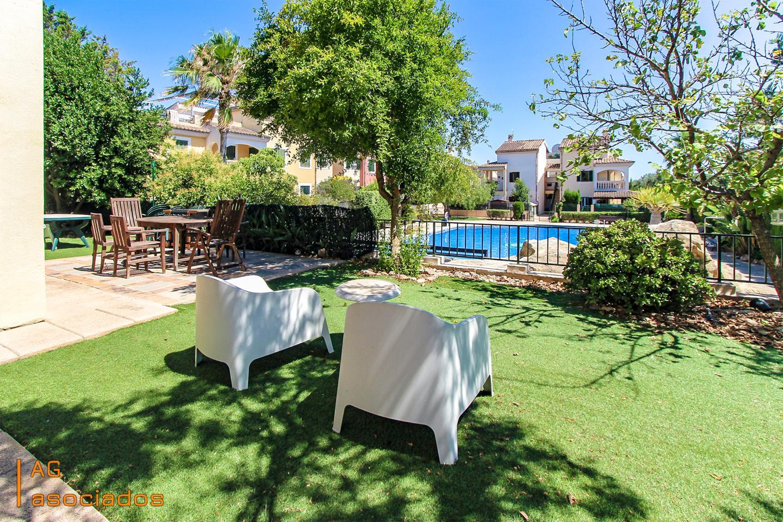 Lloguer Pis  Poligono de marratxi- es caülls. Preciosa planta baja con jardín privado de 170m2 y piscina comun