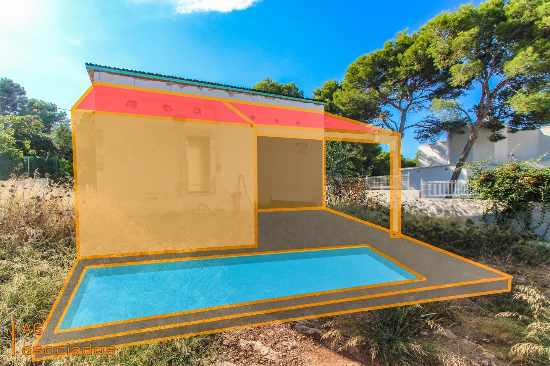 Casa  Avenida dels pins. Solar urbano de 501 m² con licencia de obra concedidas en el tor