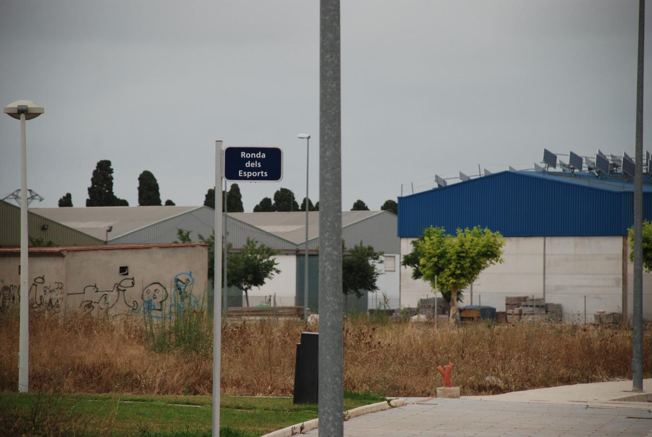Terrain urbain  Avenida dels esports, 27