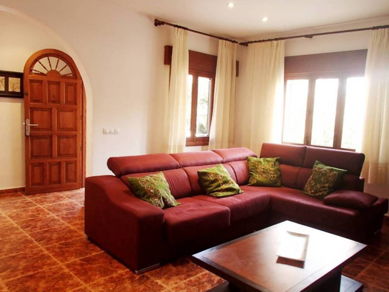 Casa  Ca´n picafort. Localizada en una zona residencial muy tranquila a tan solo unos