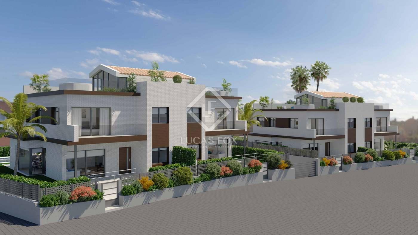 Casa en Montgat. Villa de obra nueva en venta en montgat, barcelona