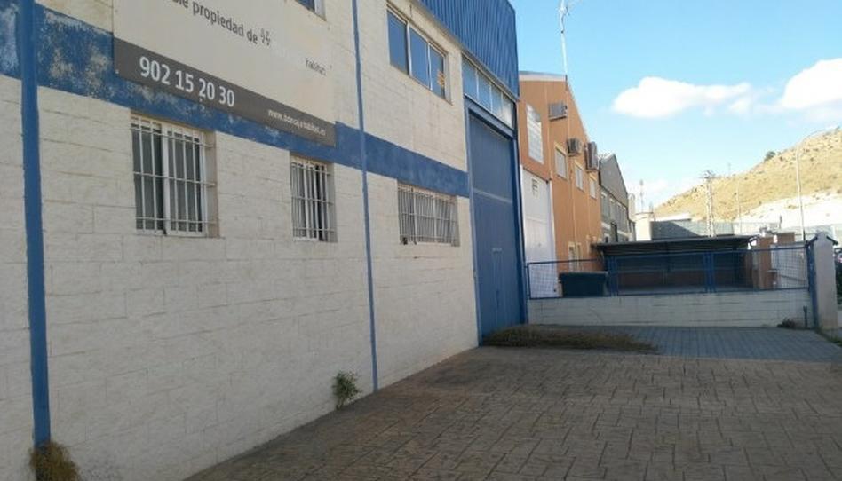 Foto 1 de Nave industrial de alquiler en C/ Algezar, Pl. Tres Hermanas Pedanías Este, Alicante
