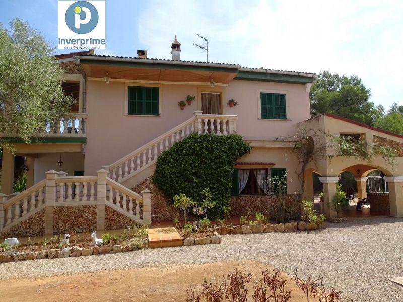 Casa  Algaida ,algaida. Casa de campo en algaida - dos viviendas independientes con pisc