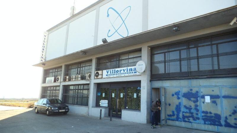 Industrial building in Calaf