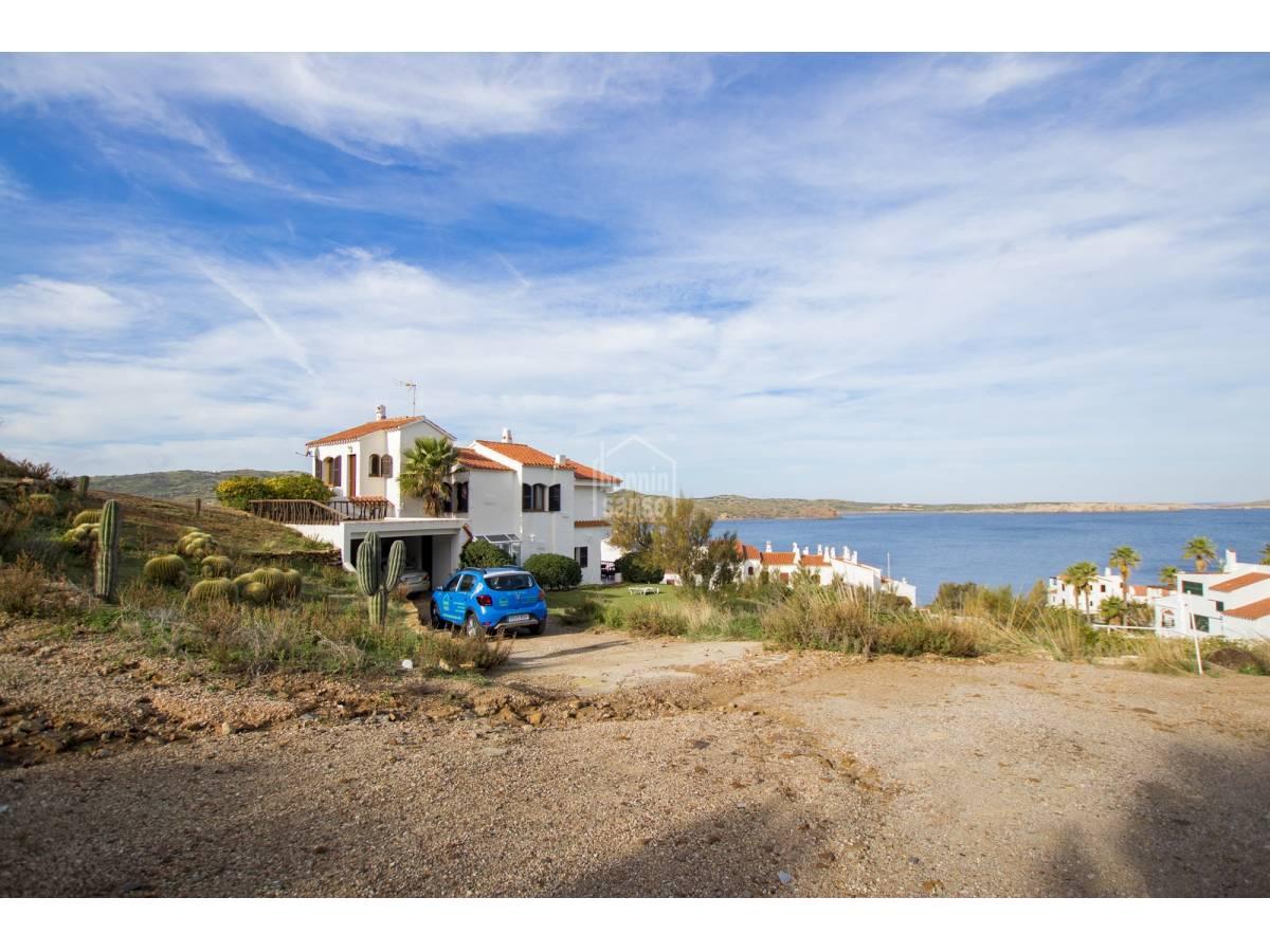 Casa  Fornells playa. Villa con espectaculares vistas al mar, fornell, menorca