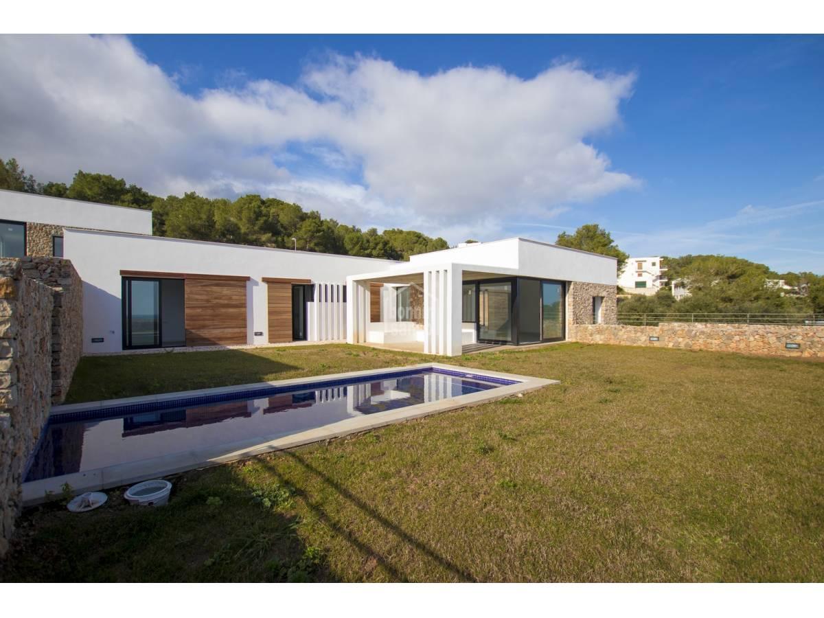 Casa  Coves noves. En construccion villa contemporanea con vistas panoramicas. cove