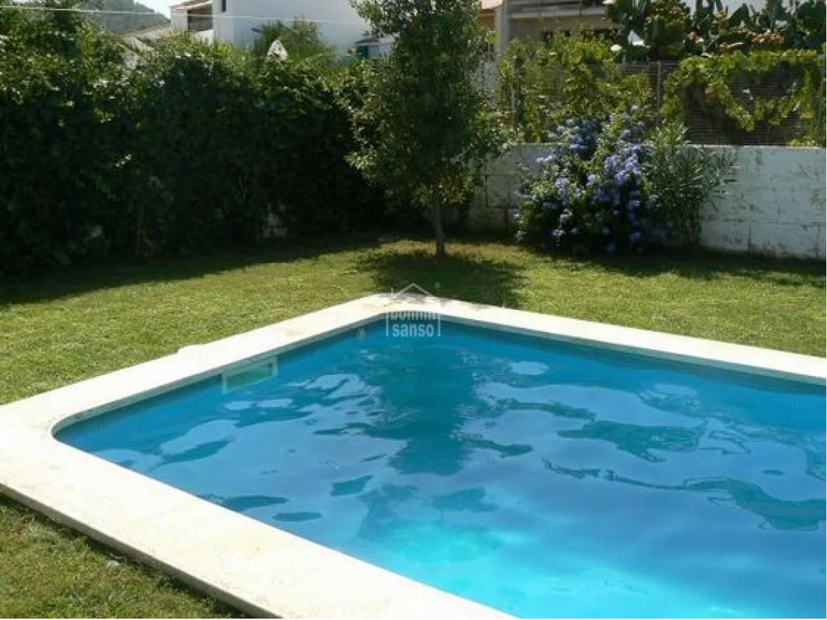 Pis  Mercadal. Moderno piso con piscina en es mercadal, menorca