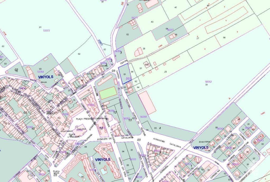 Solar urbano  Riudoms (de). Urbanizable programado en venta en carrera riudoms (de), vinyols