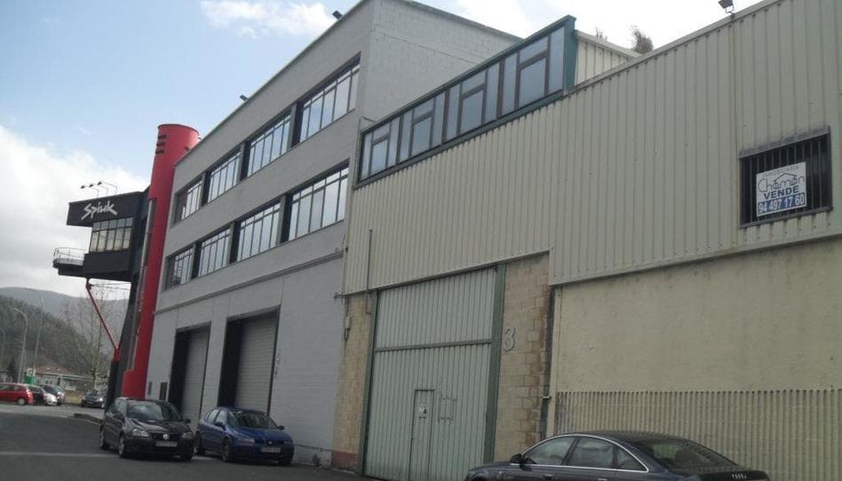 Foto 1 de Nave industrial en venta en Calle Bengoetxea Orozko, Bizkaia