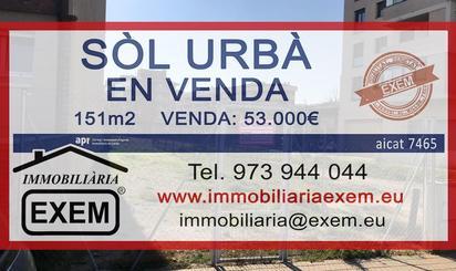 Grundstuck zum verkauf in Instituts - Universitat, Lleida Capital