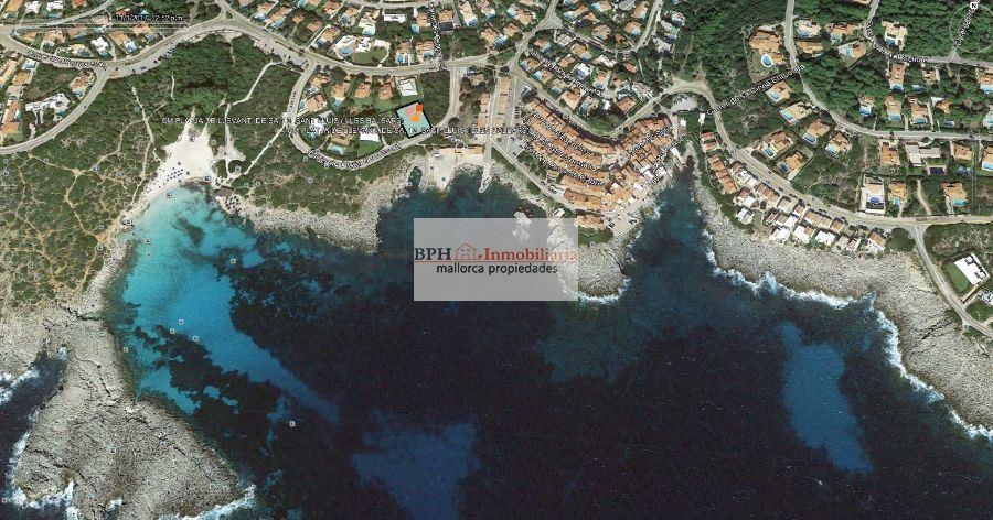 Urban plot  Sant lluis - binibeca. Solar en primerisima linea de mar junto a playa  de binibeca