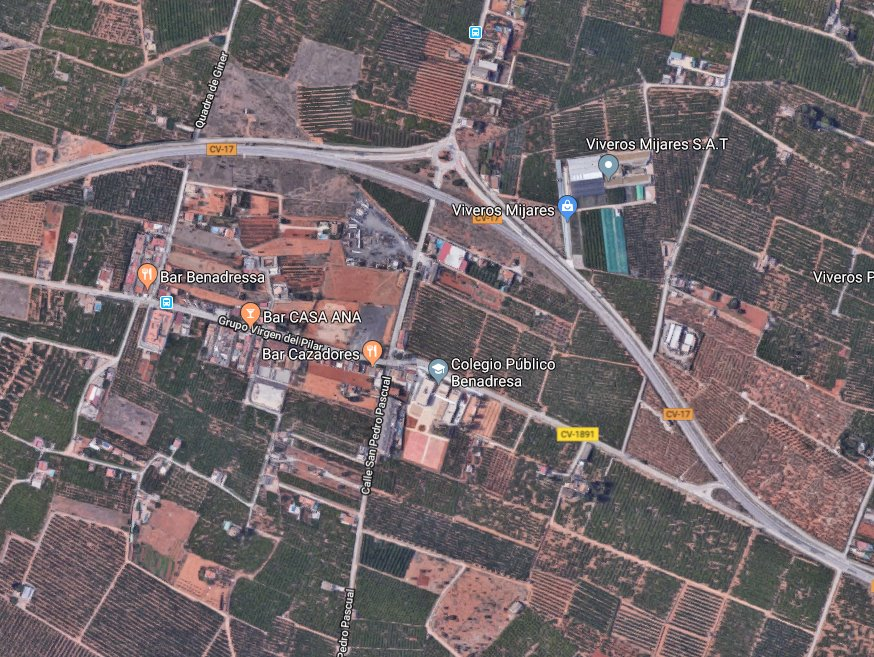 Solar urbà  Castellón de la plana  - benadresa