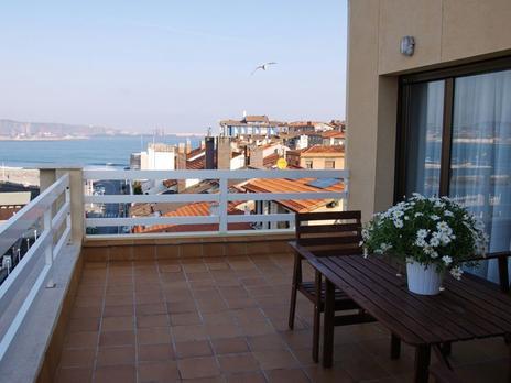 Áticos de alquiler con terraza en Gijón