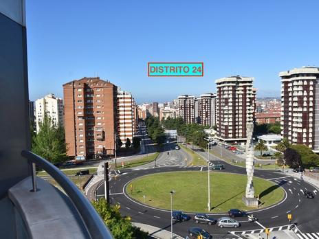 Apartamentos de alquiler con terraza en Gijón