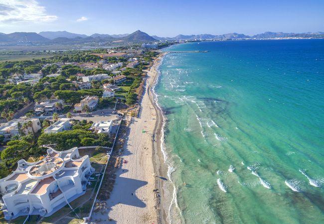 Locale commerciale  Muro. Beach club en primera línea de playa