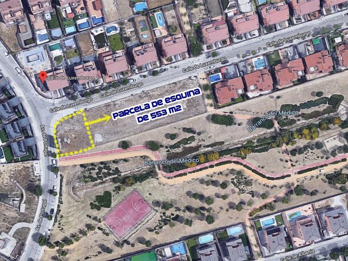 Foto 1 de Urbanizable en venta en Calle Luxemburgo de Zona Europa, Madrid