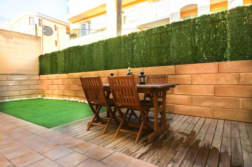 Pis  Vilafranca de bonany. Luminosa planta baja con gran terraza