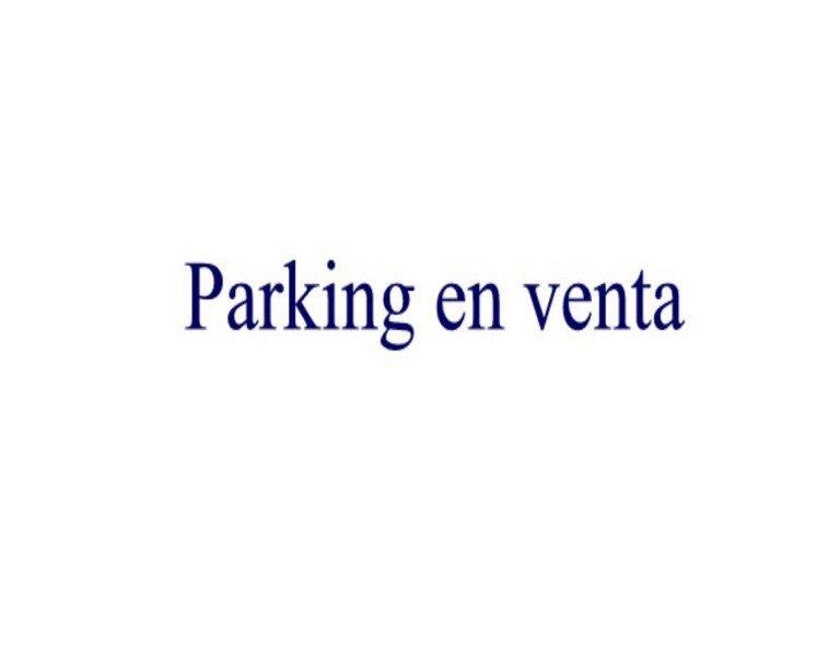 Parking coche  Son servera. Se vende plaza de parking en son servera