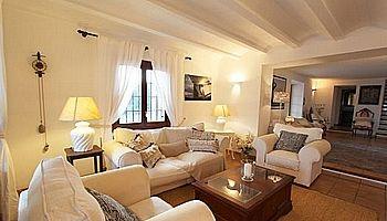 Holiday rentals House in Es Cubells. Villa panoramica con piscina es cubells