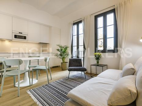 Apartamentos en venta amueblados en Barcelona Capital