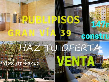 Inmuebles de Publipisos Inmobiliarias Zaragoza en venta en España