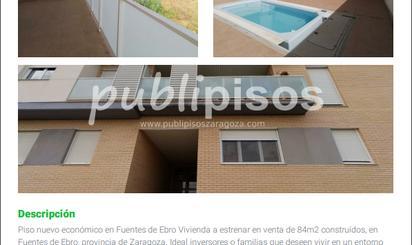 Pisos en venta con piscina en Fuentes de Ebro
