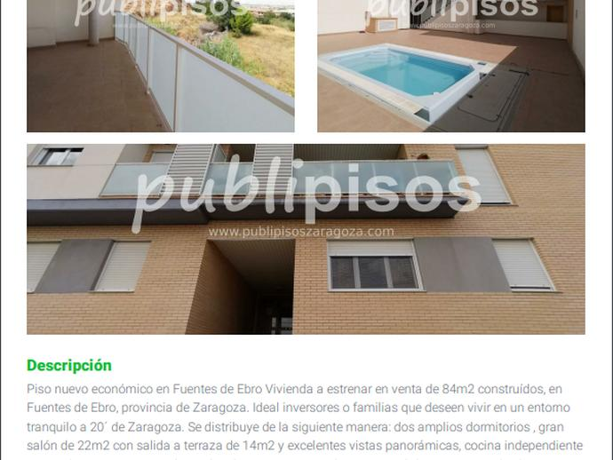Foto 1 de Piso en Miguel de Unamuno Fuentes de Ebro