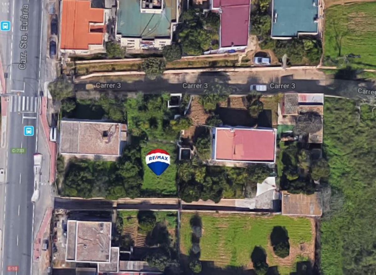 Urban plot  Sant antoni de portmany ,área de sant antoni. Parcela urbana con muchas posibilidades en san antonio.