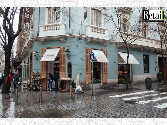 Foto 4 de Local comercial en Calle Lagasca / Recoletos,  Madrid Capital