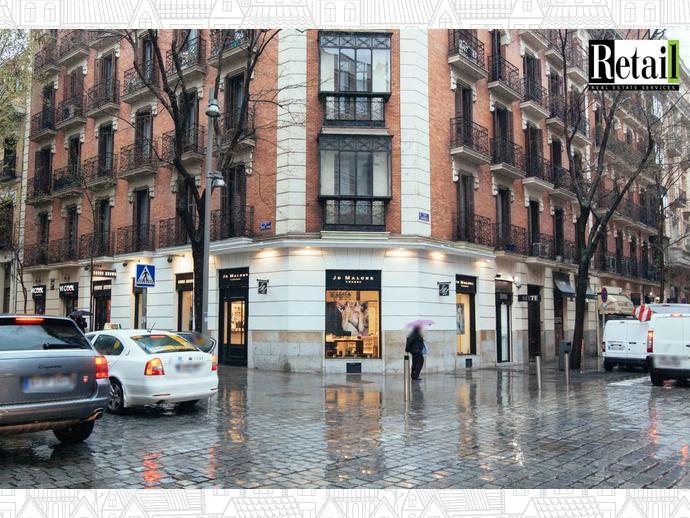 Foto 5 de Local comercial en Calle Lagasca / Recoletos,  Madrid Capital