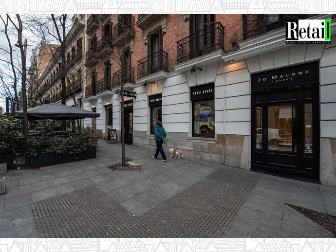 Foto 8 de Local comercial en Calle Lagasca / Recoletos,  Madrid Capital