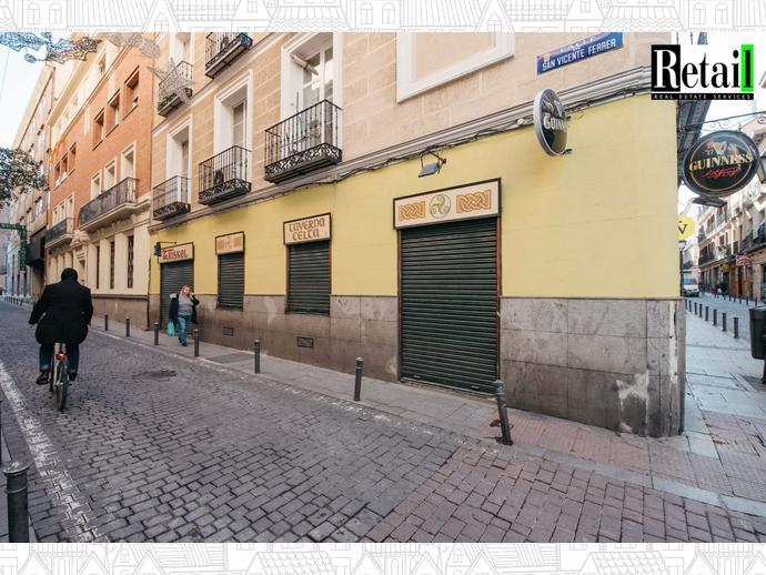 Foto 2 de Local comercial en Calle San Vicente Ferrer / Universidad - Malasaña,  Madrid Capital