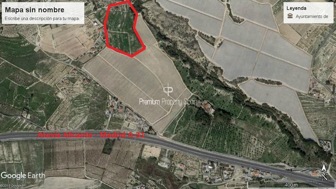 Solar urbà  El desierto - poligono 26 - parcela 126. Excelente parcela de 33.273m2 situada en la zona del rebolledo (