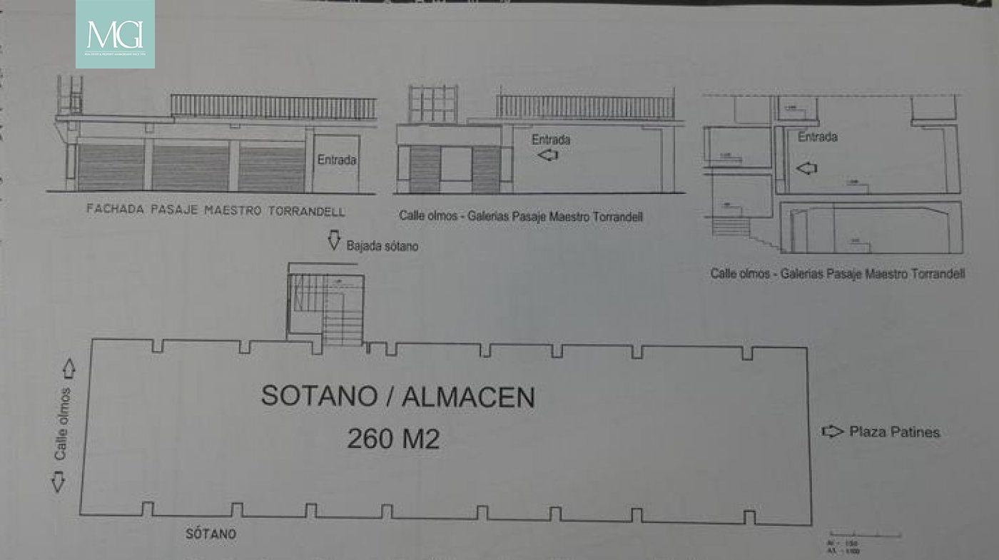 Local Comercial  Palma de mallorca ,centro. Calle olmos, gran sótano para inversión en el centro