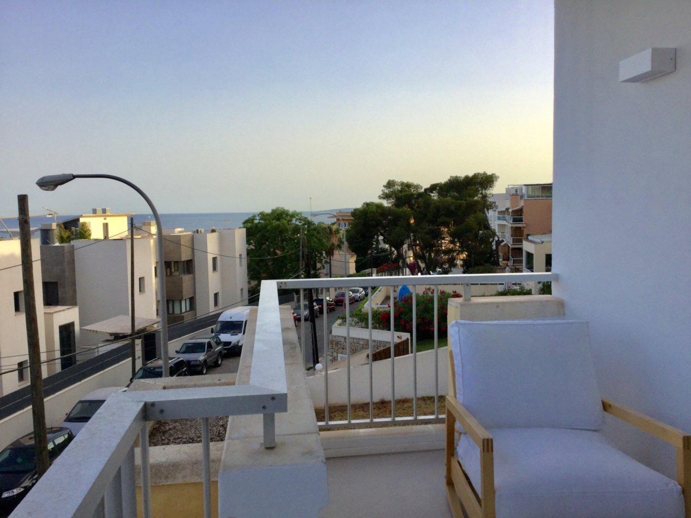 Lloguer Pis  Palma de mallorca ,la bonanova. La bonanova piso con vistas al mar, como a estrenar.