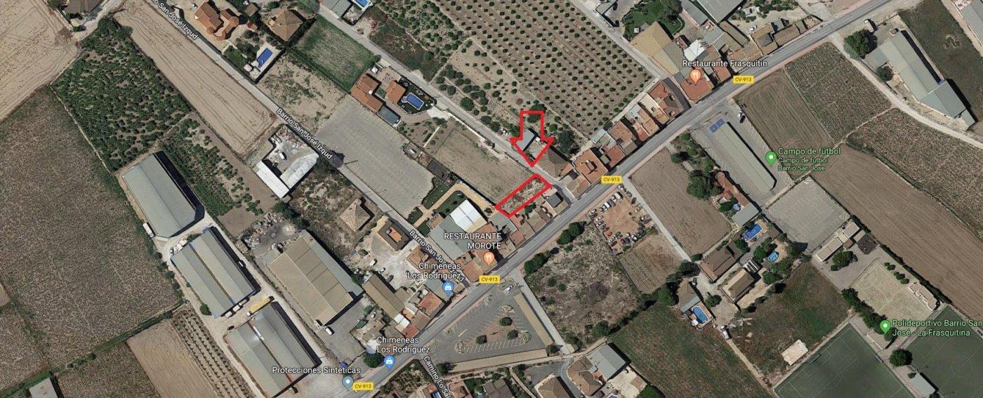 Urban plot  Callosa de segura ,san jose. Solar urbano en el barrio de san josé