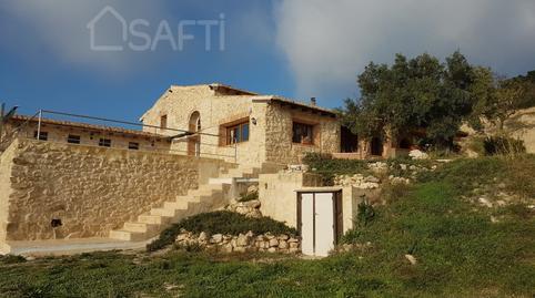 Foto 3 de Finca rústica en venta en Torremanzanas / La Torre de les Maçanes, Alicante